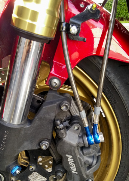 """Durites aviation CB1000R ABS Bihr """"Speed Brakes"""" 20150430_164441"""